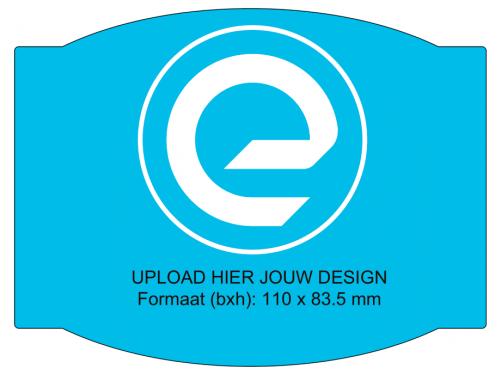 Speciale vorm - rechthoek met rondingen