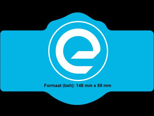 Speciale vorm - Rechthoek met ronde middenstuk