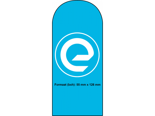 Speciale vorm - rechthoek met ronde bovenkant