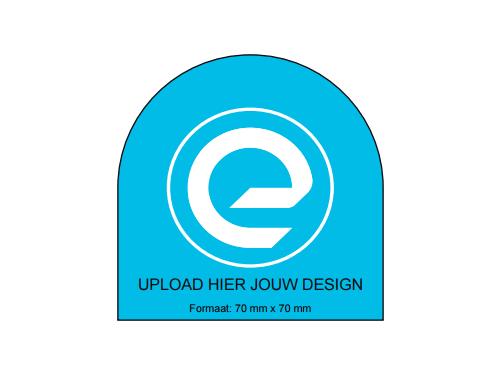 Speciale vorm - ronde bovenkant