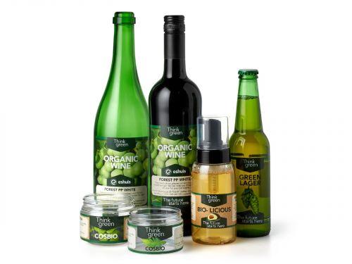 Duurzame verpakking - zelfklevende etiketten
